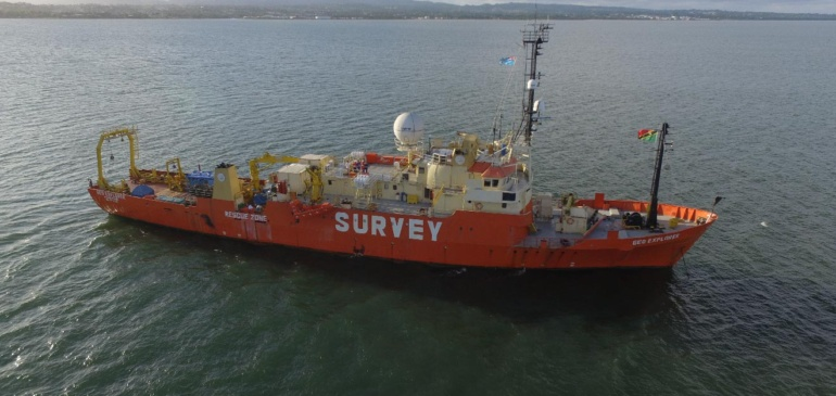 Tui-Samoa Submarine Cable Route Survey Underway